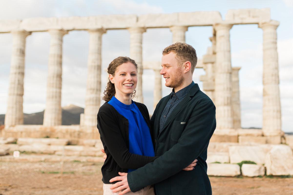 Sounio Engagement Photoshoot