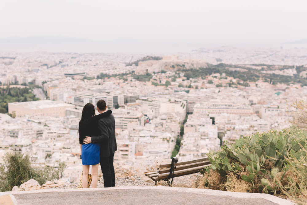 Surprise Proposal in Athens