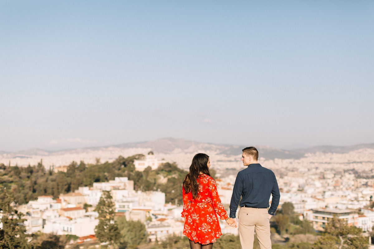 Athens honeymoon photoshoot
