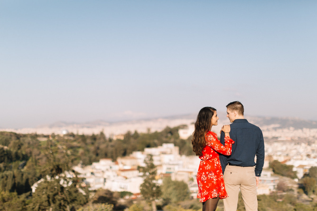 James & Carol | Athens honeymoon photoshoot