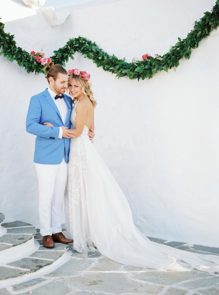 Stylish Greek Bohemian Wedding in Athens Riviera