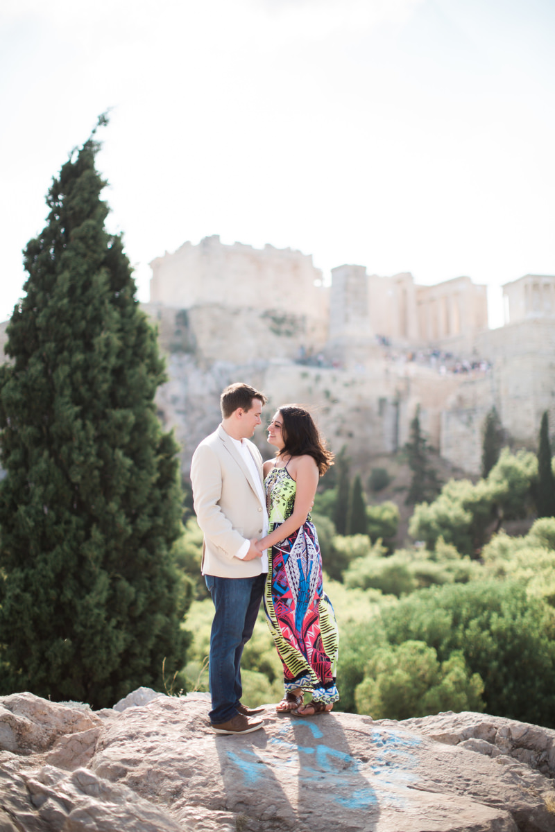 Plaka Photoshoot in Athens