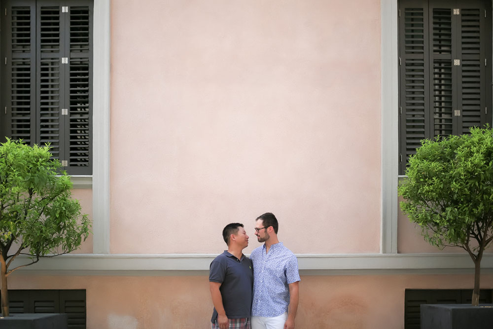 Nick & Tien | Same Sex honeymoon in Athens